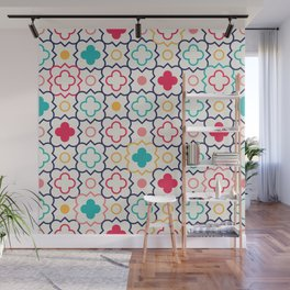 Cute Eastern Pattern Wall Mural