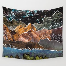 Adventure Is Out There Wall Tapestry
