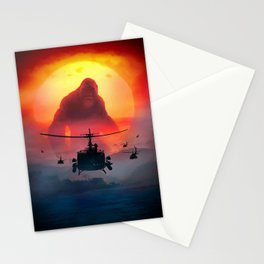 KONG Poster New Movie 2017 Skull Island Film King Kong Stationery Cards