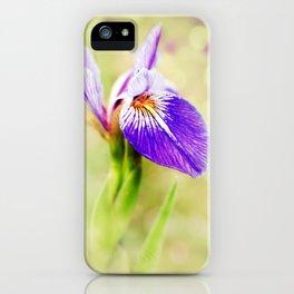 Iris (2) iPhone Case