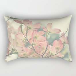 Vintage Dogwoods Rectangular Pillow