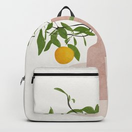 Lemon Branches Backpack