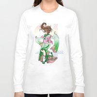 sailor jupiter Long Sleeve T-shirts featuring Sailor Jupiter by Sophira-lou