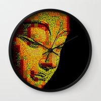 buddah Wall Clocks featuring Buddah II by noirlac