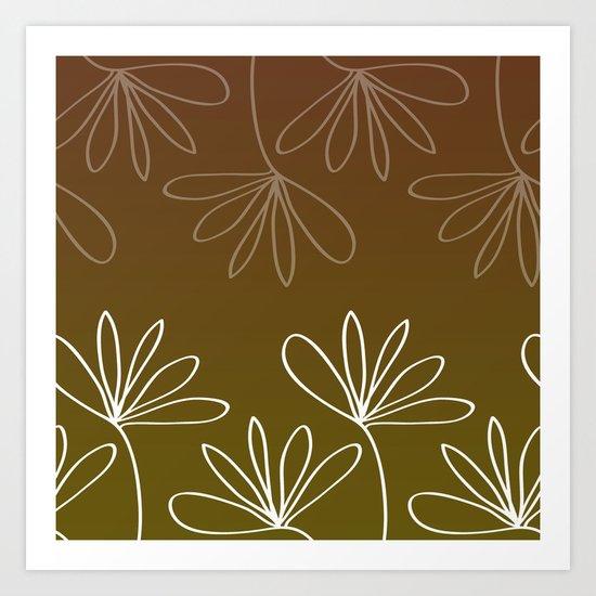 Floralis Art Print