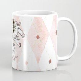 dancing cat Coffee Mug