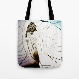 Glacial Foliation Tote Bag