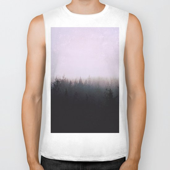 I want to be wherever you are Biker Tank