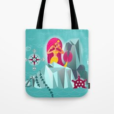 Mermaid's Call Tote Bag