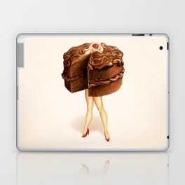 Cake Girl - Chocolate Laptop & iPad Skin