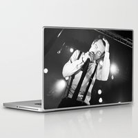 panic at the disco Laptop & iPad Skins featuring Panic At The Disco - Brendon Urie by Lights & Sounds Photography