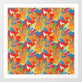 Floral 101 Art Print