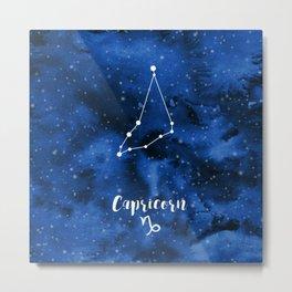 Capricorn Constellation Metal Print