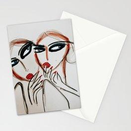 Gossip at Brunch Stationery Cards