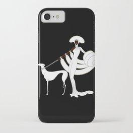 "Art Deco Design ""Ebony and White"" iPhone Case"