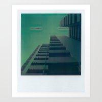City Heights Art Print