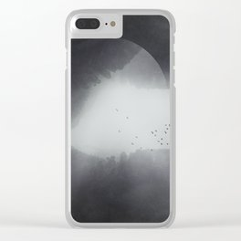 Spaces VIII - Singularity Clear iPhone Case