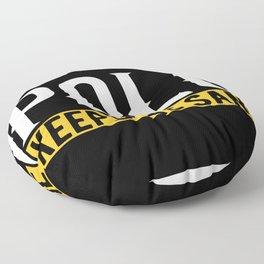 Polo Lover Gift Idea Design Motif Floor Pillow
