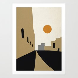 street-Abstract Art Print