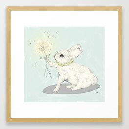 bunny I Framed Art Print