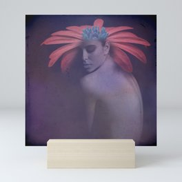 Portrait of the face of spring Mini Art Print