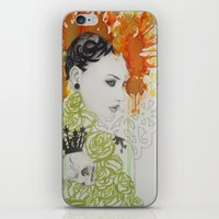 ruby iPhone & iPod Skins featuring Ruby by Aggelikh Xiarxh