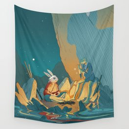 Master and student Wall Tapestry