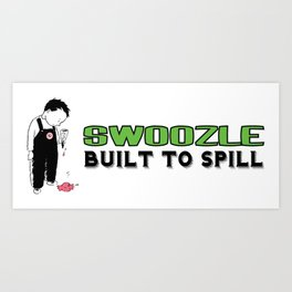 Swoozle Kerplunk Kid Art Print