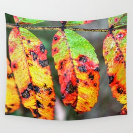 Sumac in Autumn Color Wall Tapestry