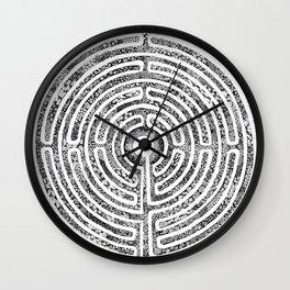 Chartres Garden Wall Clock