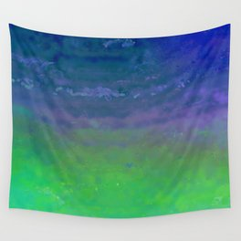 Blue Blizzard Wall Tapestry