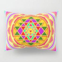 Shri Chakra Pillow Sham