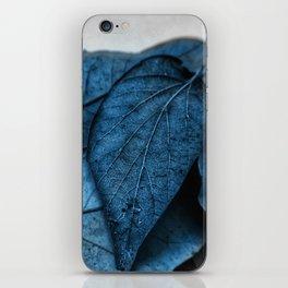 Feeling Blue iPhone Skin