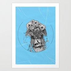Monster III Art Print