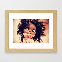 My Delicious Bliss Custom Evangeline Framed Art Print