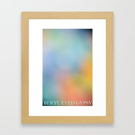 Summer Black Rainbow 2012 Framed Art Print