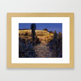 One afternoon Framed Art Print