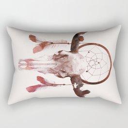 Deadly desert Rectangular Pillow