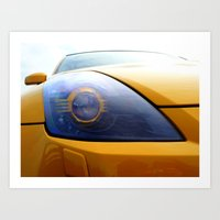 transformer Art Prints featuring The Eye Of A Transformer by VHS Photography