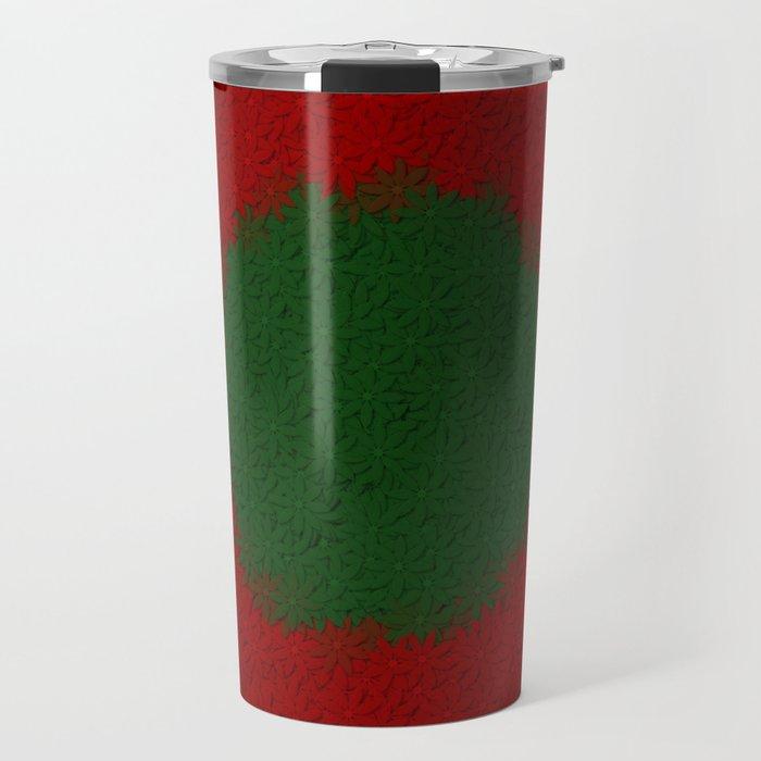 christmas colors Travel Mug