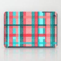 plaid iPad Cases featuring Plaid by Nichole B.