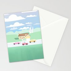SPRINGFIELD TOWN Stationery Cards