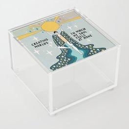 Creating worlds Acrylic Box