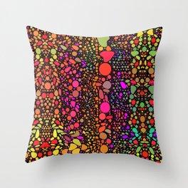 Confetti Celebration Throw Pillow