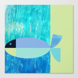 a marriage of fishes Canvas Print