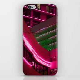 NEON XING iPhone Skin