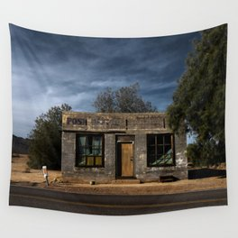 Abandoned Post Office in Kelso California Wall Tapestry