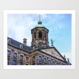 Koninklijk Paleis Amsterdam Art Print