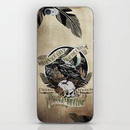 Crooked Kingdom - Change The Game iPhone Skin
