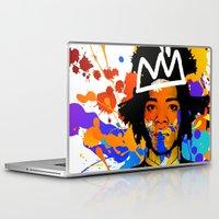basquiat Laptop & iPad Skins featuring BASQUIAT by SebinLondon